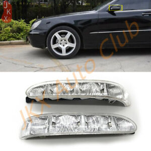 2X Rearview mirror turn signal Lamp x Fit For Mercedes-Benz CL S Class W220/215