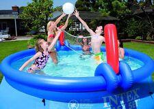 Intex Volleyball und Basketball Set für Pool 457 bis 549 cm Quickup Easy Pool