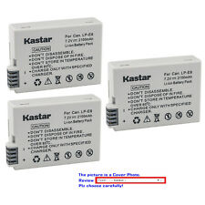 Kastar Replacement Battery for Canon LP-E8 LC-E8 & Canon EOS Rebel T3i Camera