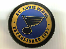 St. Louis Blues Puck Men's Ice Hockey Established Logo Black NHL
