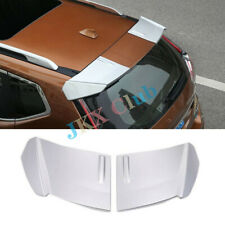 For Nissan X-Trail Rogue 14-2018 Pair ABS Sliver Rear Roof Trunk Spoiler Wing o