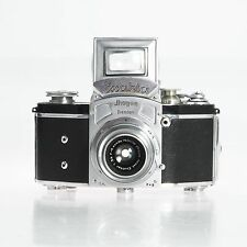 Exakta Ihagee Dresden 35mm Film SLR Camera Body Bundled Lens Fog