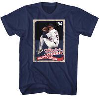 Major League Ricky Vaughn Baseball Card 1994 Mens T Shirt Cleveland Player Merch