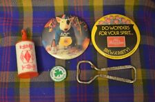Lot ofVarietyBEER MEMORABILIA Items-Bud Pin,OldMilwaukee Pin,GrainBelt Bobber+
