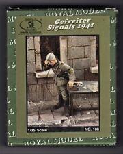 ROYAL MODEL 188 - GEFREITER SIGNAL 1941 - 1/35 RESIN KIT