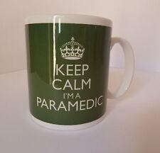 Keep Calm I'm a Paramedic Mug In Carry On Style Gift Present Mug Cup Ambulance