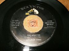 A PAIR OF KINGS - THE MONSTER - ONCE    / LISTEN -  VOCAL GROUP  HALLOWEEN