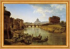 New rome. the Castle of st. Angelo schtschedrin italie rome château B a3 03230