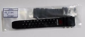 NEW GENUINE CITIZEN 59-97541 20MM BLACK RUBBER WATCH BAND FOR AQUALAND PROMASTER