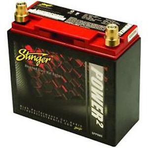 NEW STINGER SPP680 DRY CELL BATTERY 12-VOLT CAR AUDIO 1800 MAX AMP $229 MSRP NR