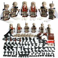 Minifiguren WW2 Sowjet Rote Armee Russland, Militär, LEGO® kompatibel, NEU