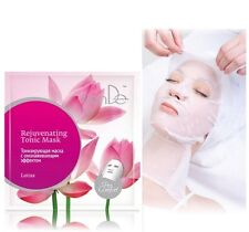 5 x TianDe Pro Comfort Lotus Rejuvenating Tonic Mask Face and Neck Mask,1 pc.