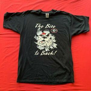 Georgia Bulldogs Men's The Bite Is Back T-Shirt Black XL