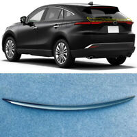 ABS Carbon Rear Trunk Wing Spoiler Trim for Toyota Harrier Venza XU80 2020 2021