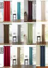 HOTEL HIGH QUALITY 1 PANEL LINED BLACKOUT GROMMET WINDOW CURTAIN DRAPE TREATMENT