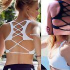 Yoga Sports Bra Women Seamless Crop Top Fitness Racerback Workout Bra S M L XL E