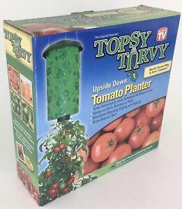 Topsy Turvy Upside-Down Tomato Planter Indoor Porch Garden As Seen On TV