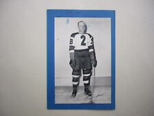 1934/43 BEEHIVE CORN SYRUP GROUP 1 NHL HOCKEY PHOTO EDDIE SHORE MK BEE HIVE