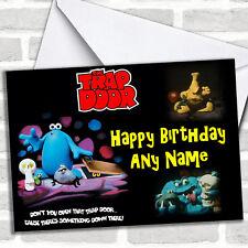 Trap Door Birthday Customised Card