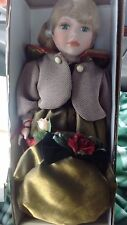 Madison Lee Limited Edition Porcelain Doll With Certificate of Authenticity