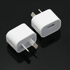 AU Plug USB Wall Charger Power Adapter for iphone 6 Plus 6 5S 5 4 4S ipad NEW