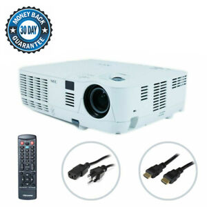 NEC NP-V260X DLP Projector Digital Presentation & Multimedia w/Accessories