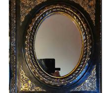 Miroir  ovale. Fin du XIXe siècle