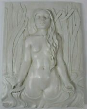 European Style Wall Sculpture Design Toscano Indoor Home Decor Nude Women