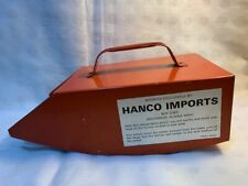 Vintage Red Metal Berry Picker Hanco Imports Alaska. Made in Sweden