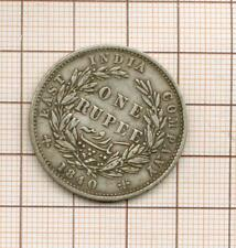 Indies Victoria Silver One Rupee One Rupee Silver 1840