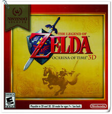 3DS The Legend of Zelda: Ocarina of Time 3D RPG Nintendo