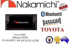 Nakamichi NA3709C CD/VCD/DVD/MP3/USB PLAYER GPS/BLUETOOTH For Toyota 200mm OEM