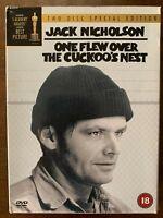 Uno Flew Sopra The Cuckoo's Nest DVD 1975 Ratched Film Classico 2-Disc Digipak