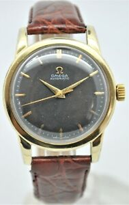 Omega Seamaster ref:2577-22 Gold capped bumper automatic gents dress watch