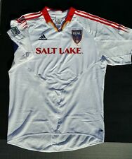 Real Salt Lake Player Issued MLS Adidas Soccer Previously Owned White XL Jersey
