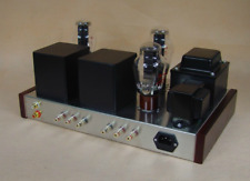 Directly Heated Triode 6N8P+300B Tube Amplifier HiFi Stereo Amp DIY KIT 7W *2
