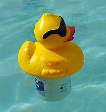 "Derby Duck Swimming Pool Chlorine Chemical Chlorinator Feeder Holds Std 3"" Tabs"