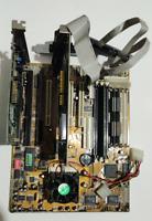 Intel Motherboard + Pentium MMX 166 MHz + 48MB RAM + ATI RADE II+DVD + Sound Car