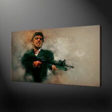 TONY MONTANA SCARFACE CANVAS PRINT PICTURE WALL ART FREE FAST UK DELIVERY
