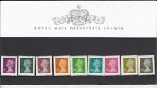 GB 2011 DEFINITIVE MACHIN PRESENTATION PACK No. 90 1p  to £1.65  MINT STAMP SET