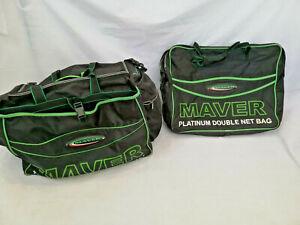 Maver Platinum Double Luggage Set Keepnet Bag and Holdall Carp Coarse Fishing