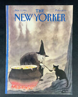 COVER ONLY ~ The New Yorker Magazine, November 3, 1986 ~ Charles Addams