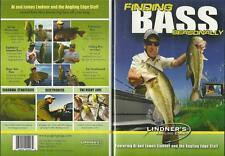 Lindner Bass Fishing Finding Bass Seasonally Spring Summer Fall DVD NEW