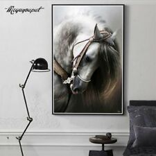 Diamond 5D Plated Painting Embroidery White Horse Picture Decoration CE