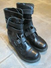 Military Issue Tanker Boots USA Double H brand HH sz 7 D flex zone comfort sole