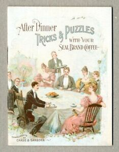 After Dinner Tricks and Puzzles #1 VF 8.0 1896