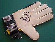 Nigel Martyn Signed Goalie Goalkeeper Glove Crystal Palace Leeds AFTAL RD#175