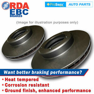 Front Disc Brake Rotors for BMW 7 Series E32 750i 1987-6/1994 (302mm Dia)