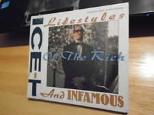 SEALED RARE OOP Ice-T CD Lifestyles of the Rich & Infamous MIXES rap Body Count