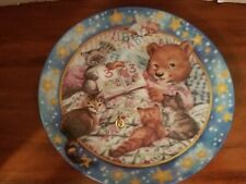 "Bradford Exchange Lullabears ""Story Tellin'"" Plate - Limited Edition,"